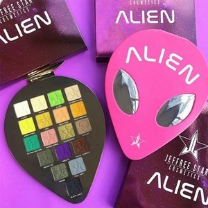 NIB DISCONTINUED Alien Palette Jeffree Star Eyes